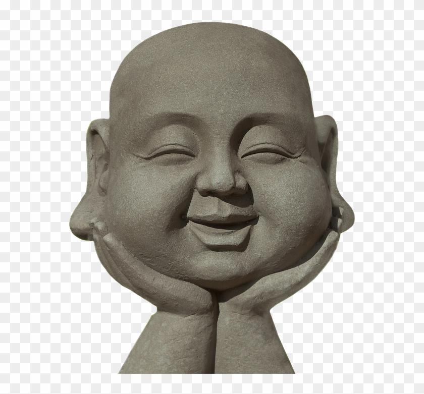 Buddha Man Face, HD Png Download.