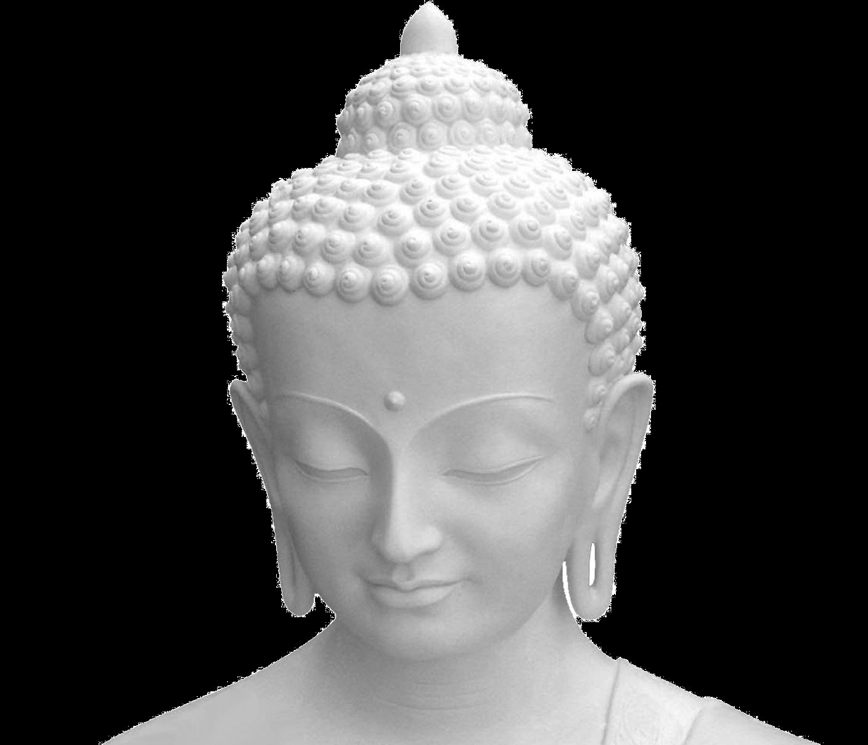 Buddha Face PNG Image.
