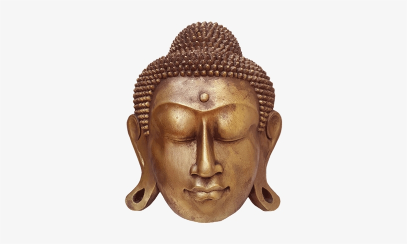 Buddha Face Transparent Image.