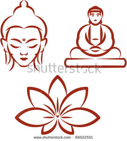 Buddha Face Stock Photos, Royalty.