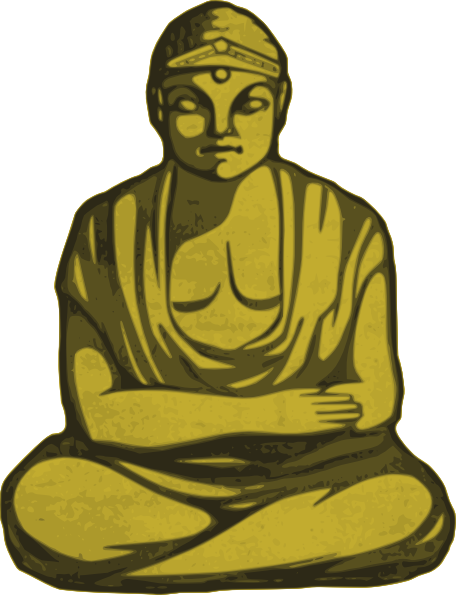 Free to Use & Public Domain Buddhist Clip Art.