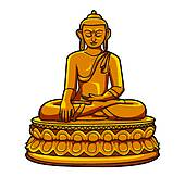 Buddha Clip Art and Illustration. 4,352 buddha clipart vector EPS.