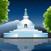 Buddha vihar clipart #18