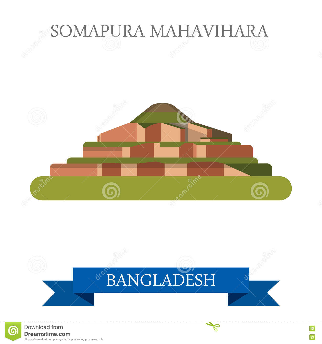 Vihara Graha Stock Illustrations.