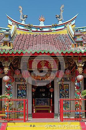 Vihara Buddha Prabha, Yogyakarta Stock Photo.