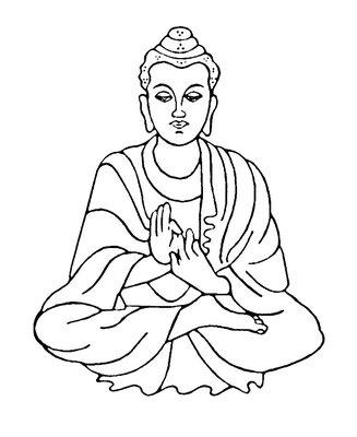 Buddha Clip Art of Birth.