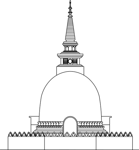 Thailand stupa free vector download (33 Free vector) for.