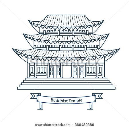 Buddhist Temple Stock Photos, Royalty.
