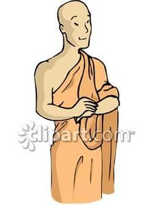 Monks clipart #11