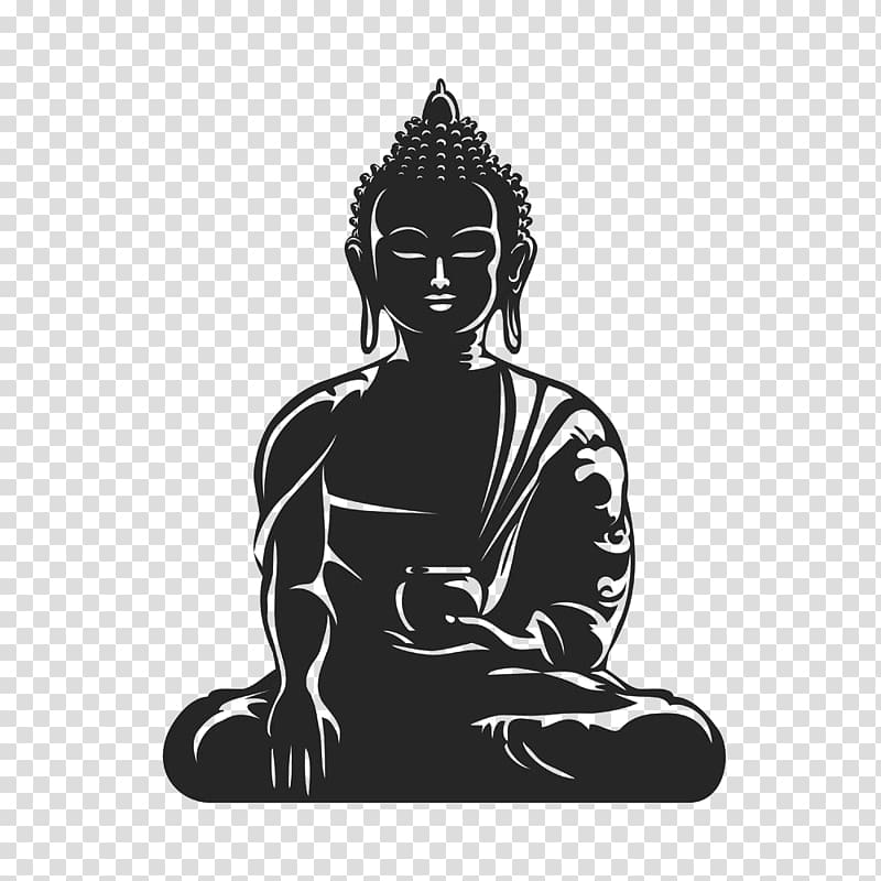 Buddha illustration, Buddhism Buddhist meditation , Cut the.