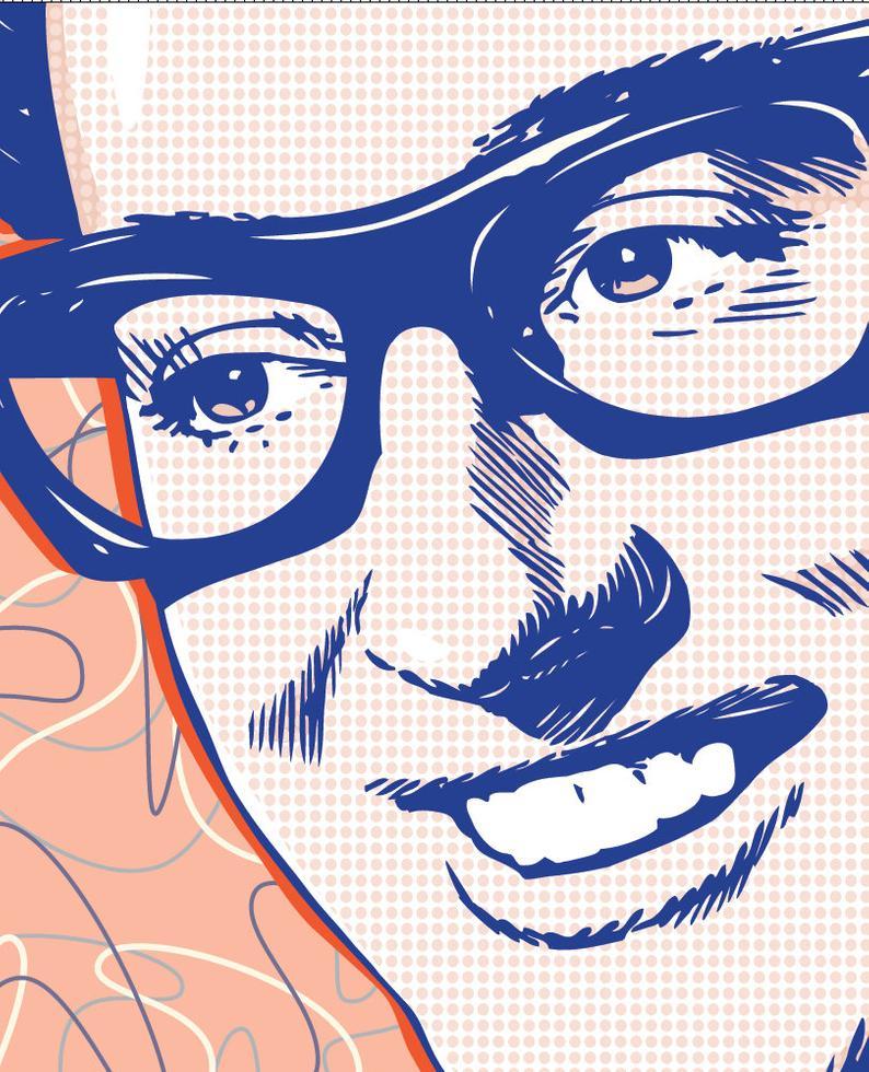 13 x 19 Buddy Holly, Buddy Holly poster, Buddy Holly wall art, Buddy Holly  art print, Buddy Holly art, Wall decor, Gift, Home decor.