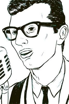 Buddy Holly Lives.