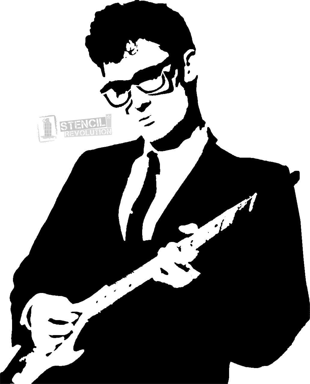 Buddy Holly Stencils.