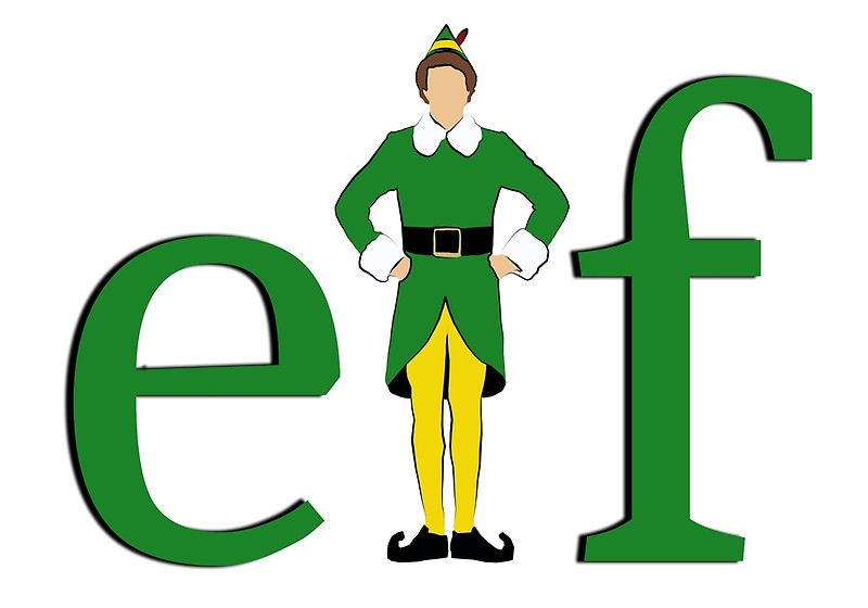 Buddy the elf.