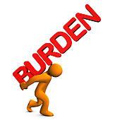 Burden Clip Art.