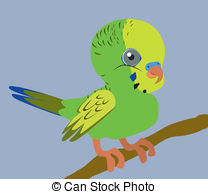 Budgies Clip Art and Stock Illustrations. 81 Budgies EPS.