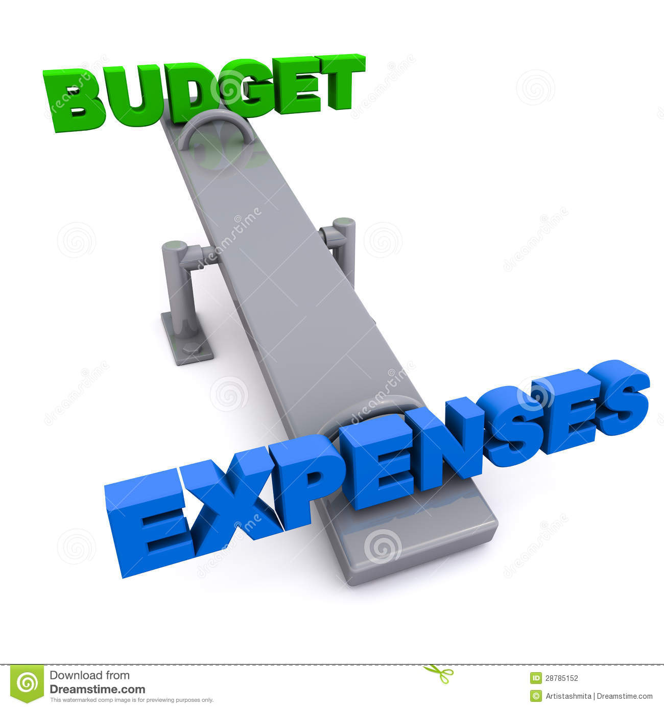 Business Budget Clipart.