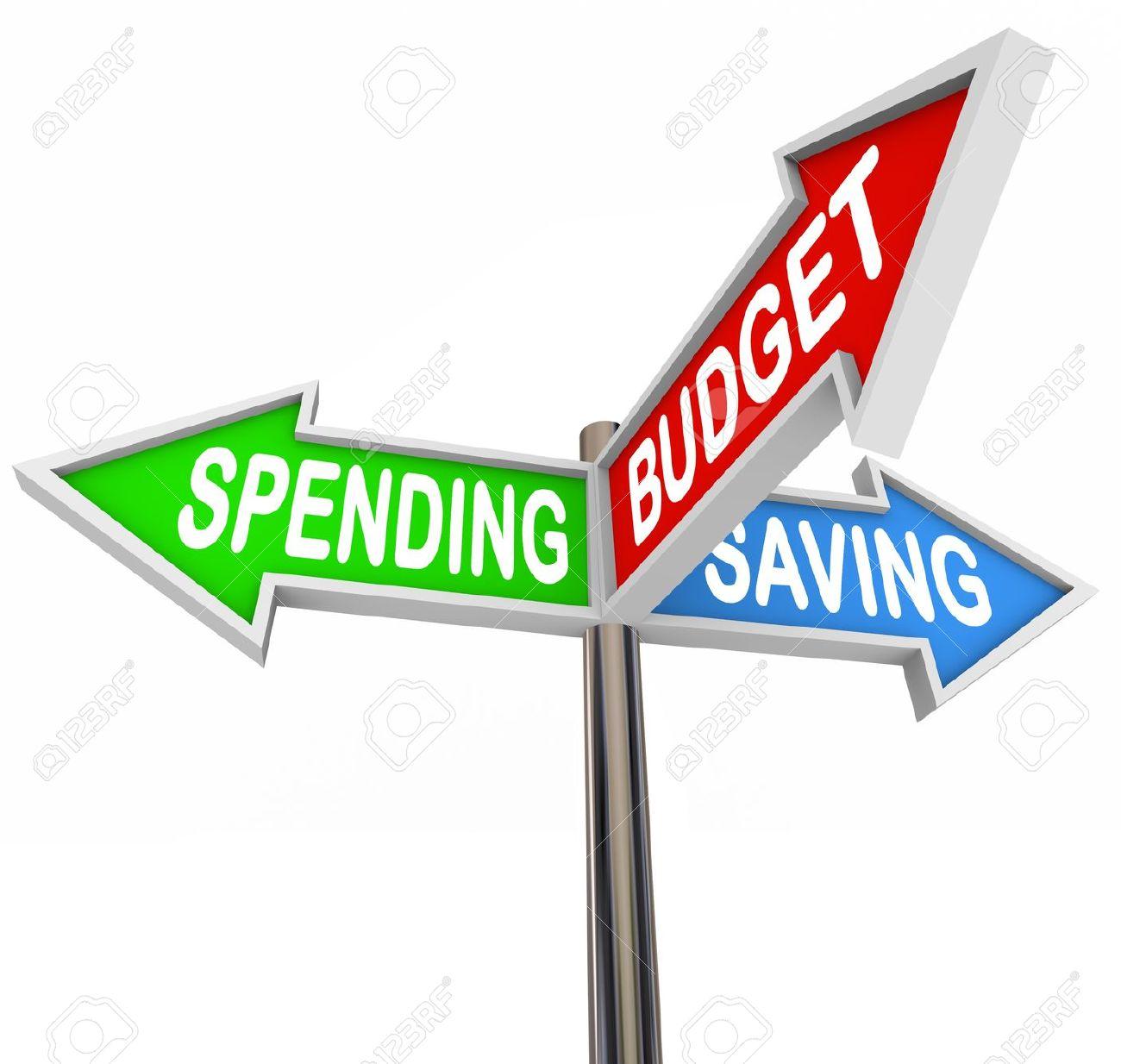 Financial Budget Clip Art.