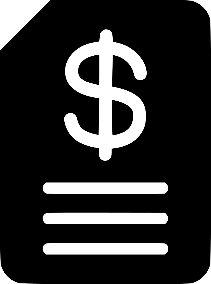Budget Invoice Svg Png Icon Free Download (#458032).