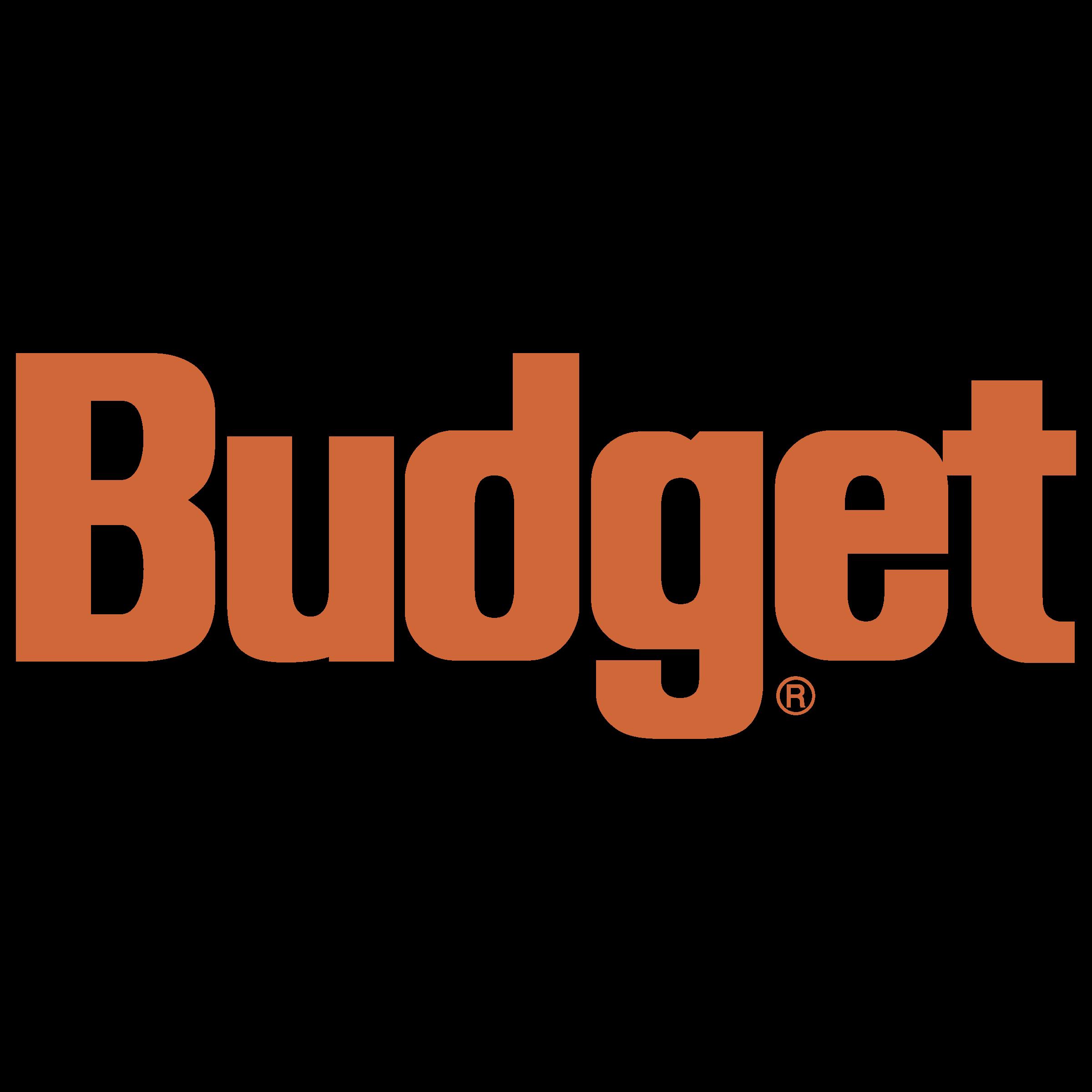 Budget Logo PNG Transparent & SVG Vector.