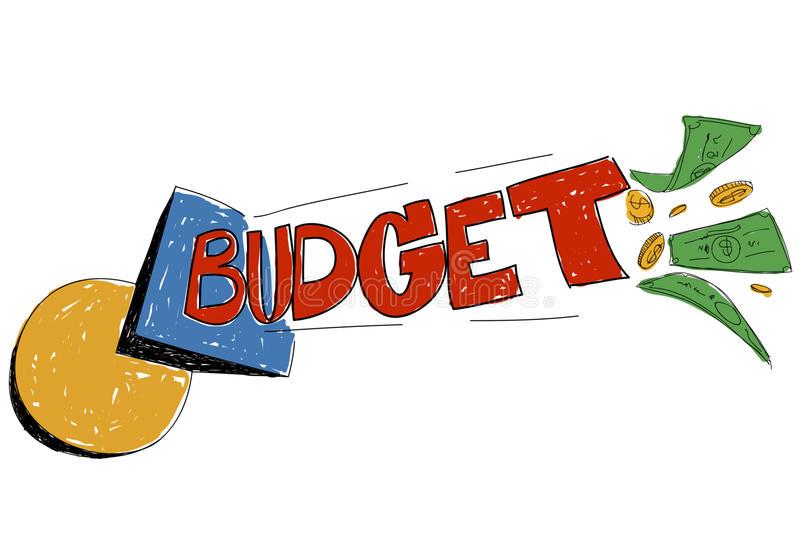 Budget Expenses Stock Illustrations.