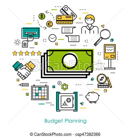 Budget planning Vector Clip Art Illustrations. 1,228 Budget planning.