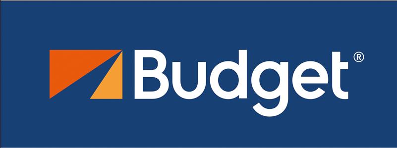 HD Budget Car Rental Sticker Transparent PNG Image Download.