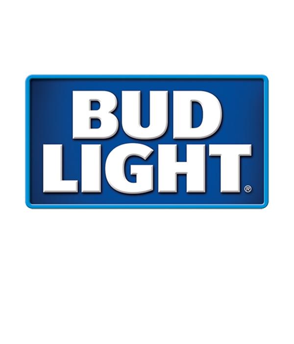 Bud Light Retro Logo Metal Sign.