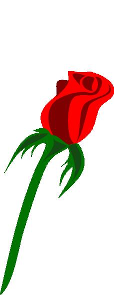 Rose Bud Clipart.
