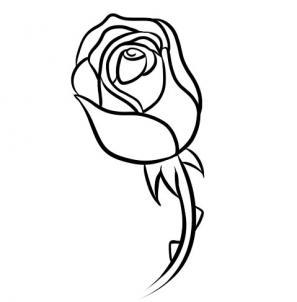 Drawings Of Rose Buds.