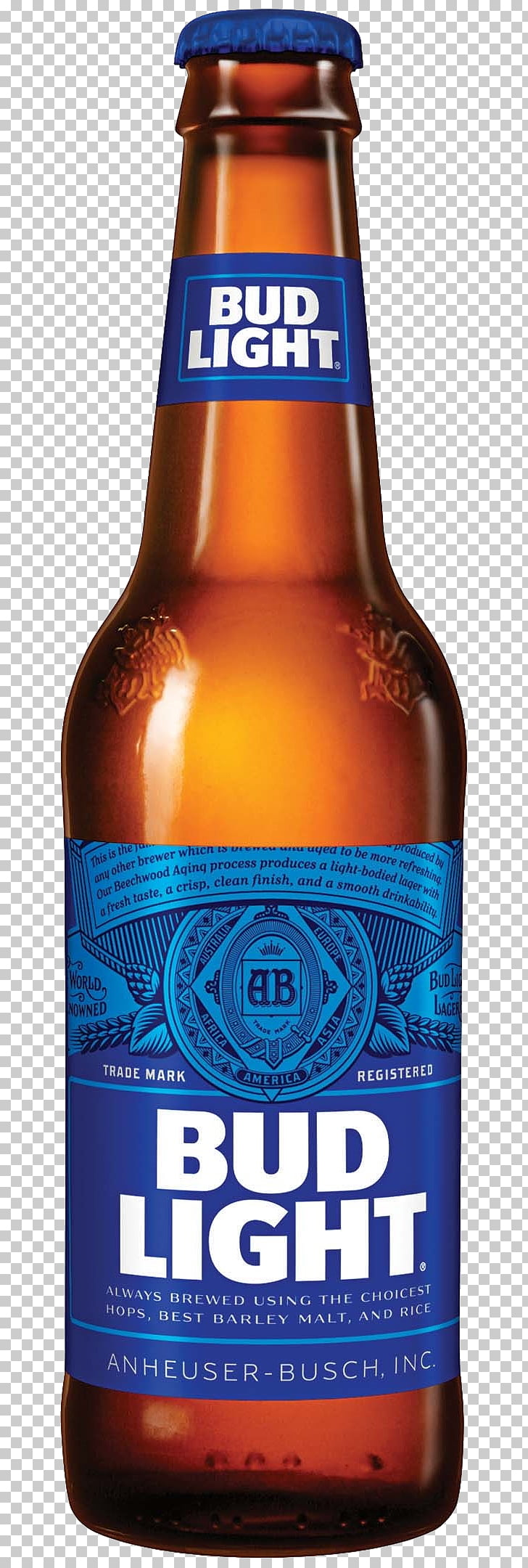 Budweiser Light beer Logo, beer PNG clipart.