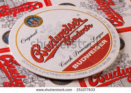 Budweiser Beer Stock Photos, Royalty.