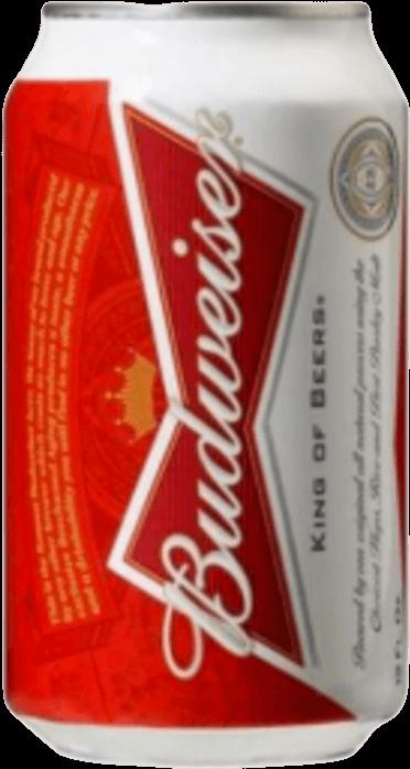 HD Budweiser Beer Can 330 Ml.