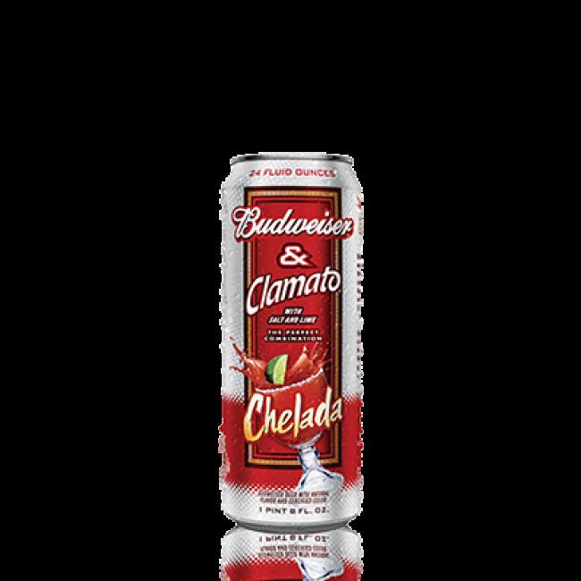Budweiser Clamato 24oz (Single Can).