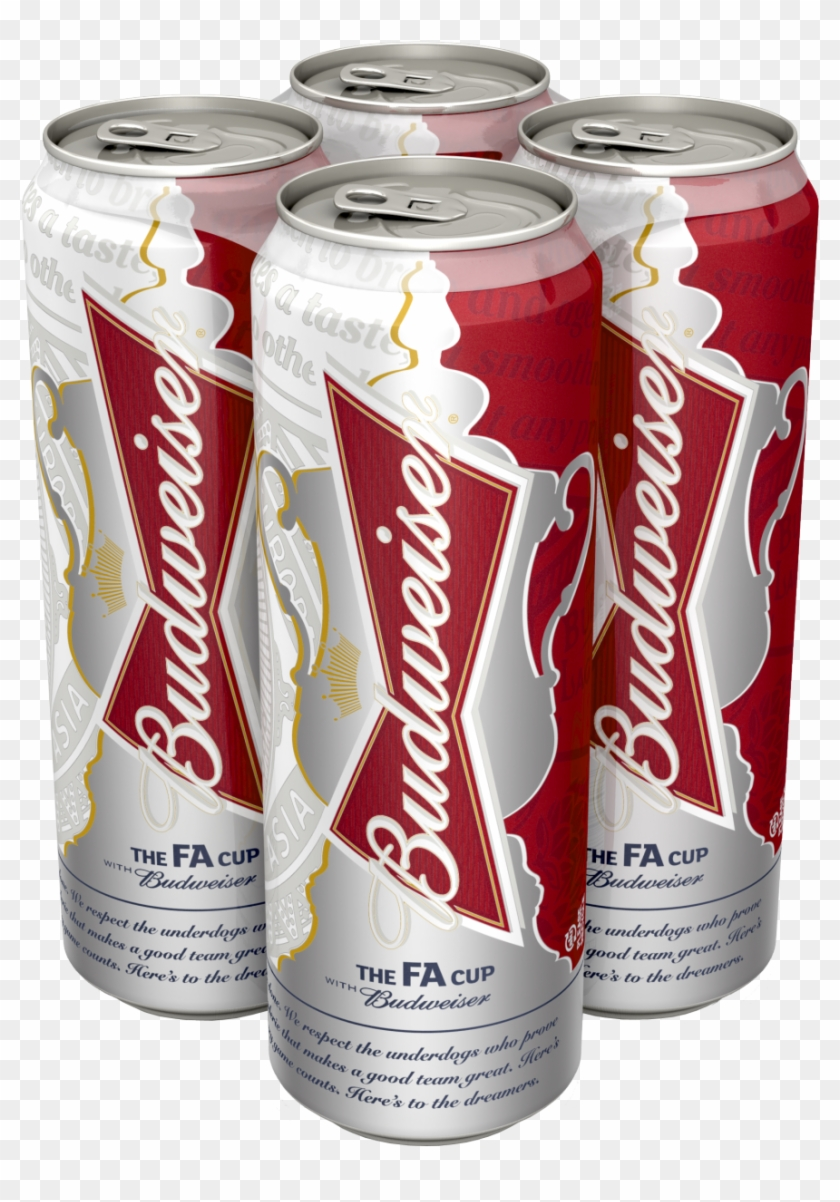 Budweiser Launches Fa Cup Cans.