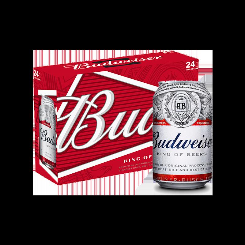 Budweiser Can Carton.