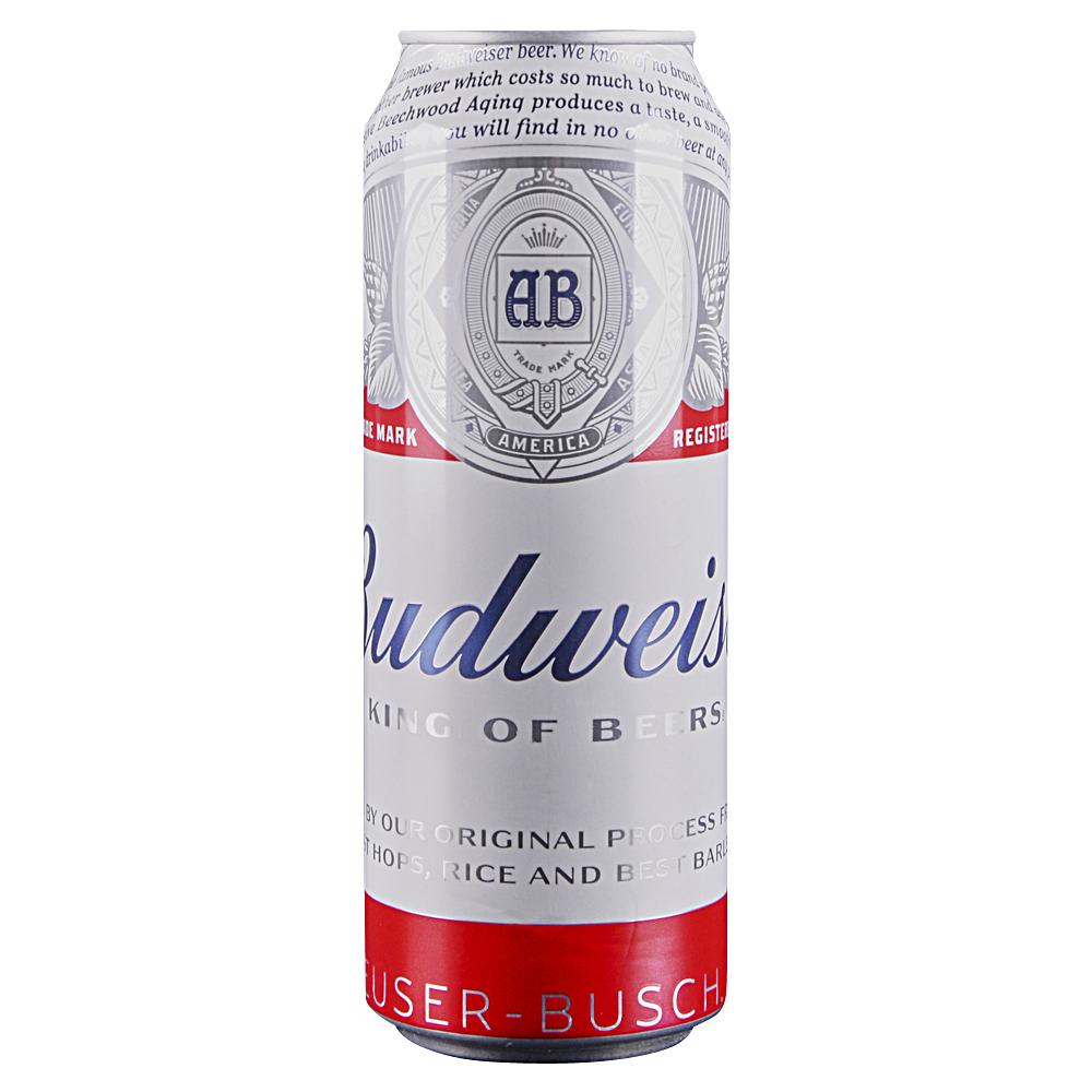 Budweiser 25 oz Cans.