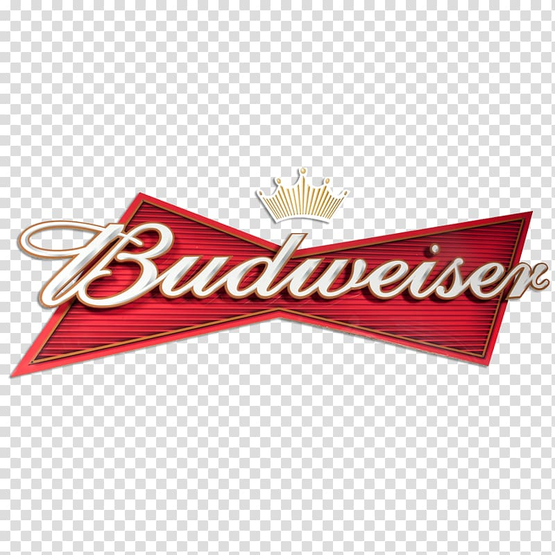 Red and white Budweiser logo, Budweiser Beer Brewing Grains.