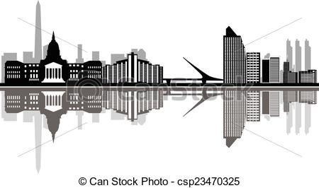 Buenos aires skyline Illustrations and Clipart. 46 Buenos aires.
