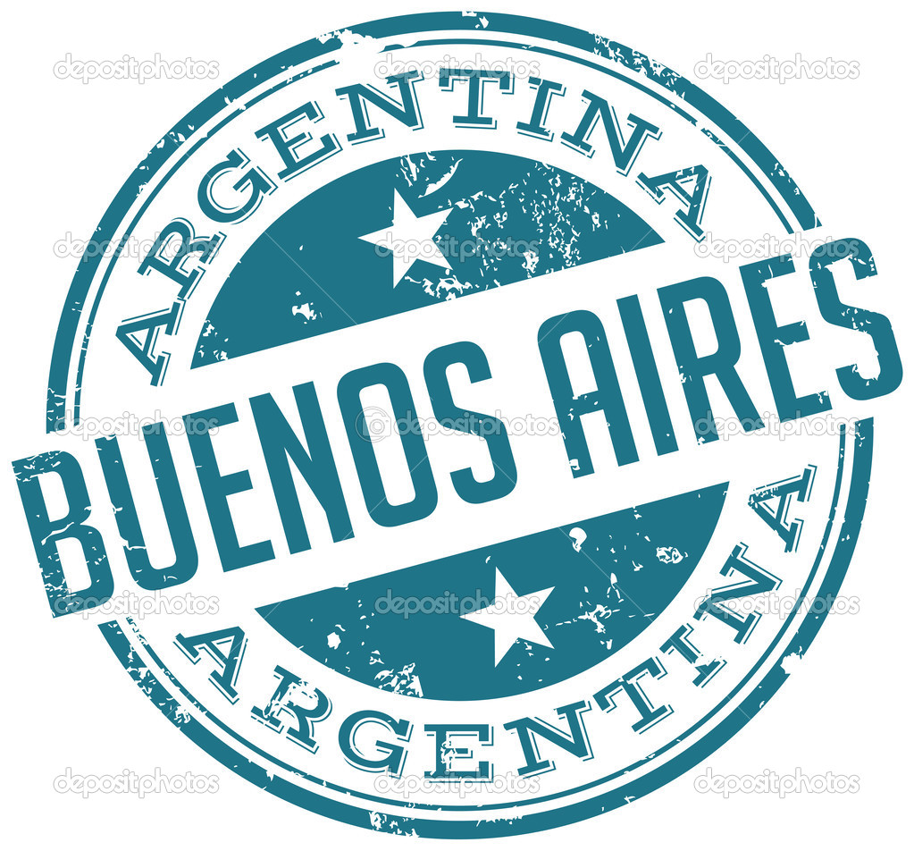 Buenos aires stamp — Stock Vector © mediterranean #51047253.