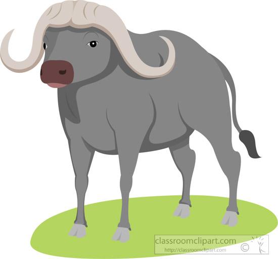 Free Buffalo Clipart.