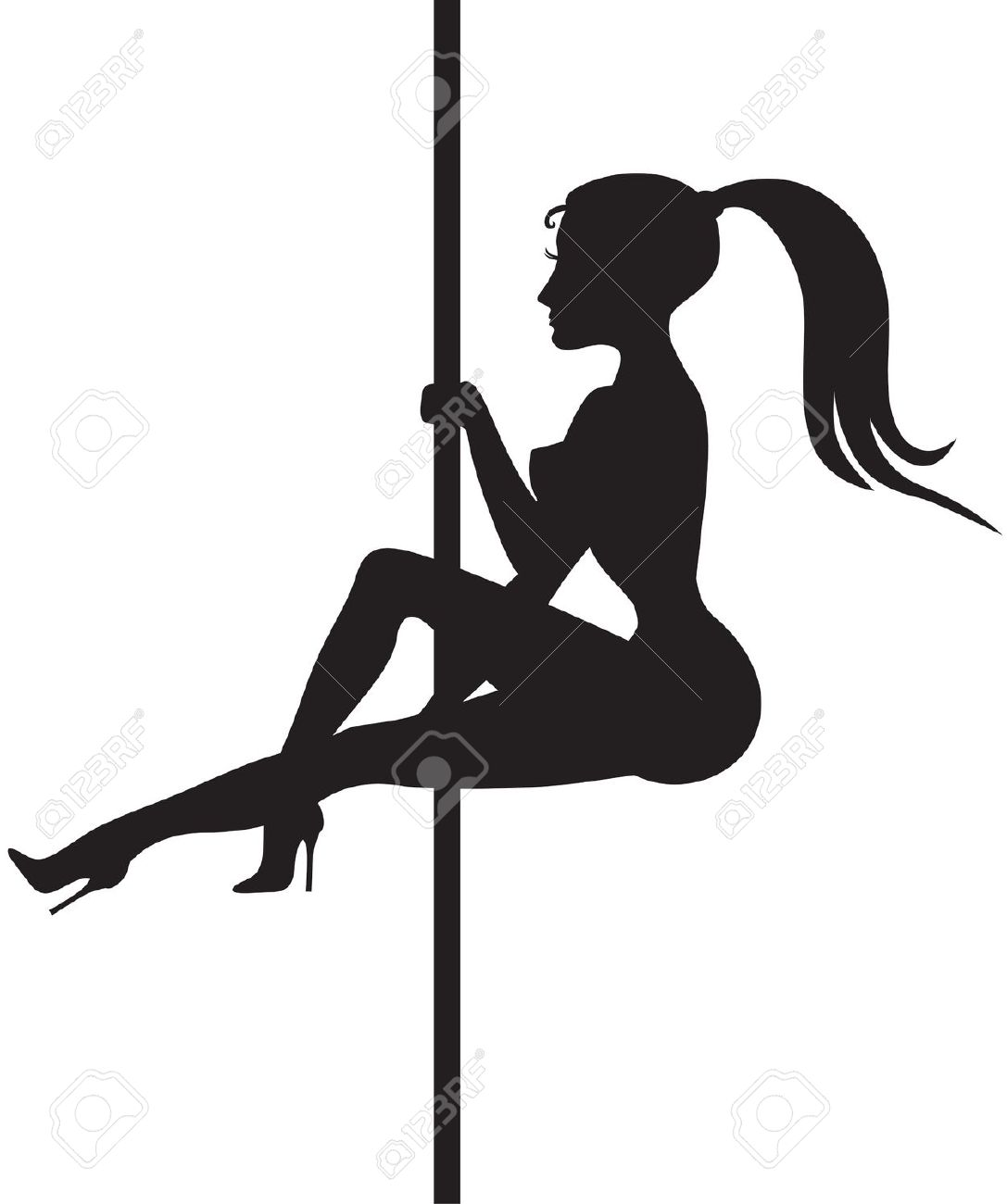 Buff Guy Pole Dancing Clipart Clipground