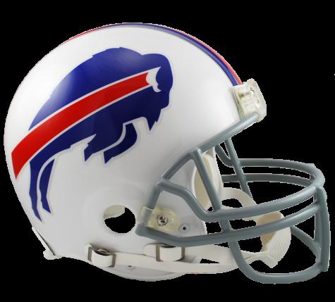 Buffalo Bills VSR4 Authentic Helmet.