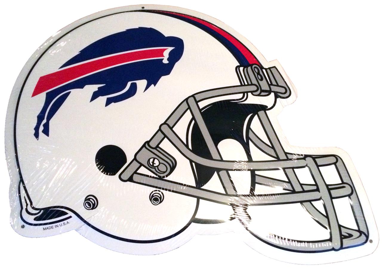 Official NFL® Buffalo Bills Helmet Premium Tin Sign (12