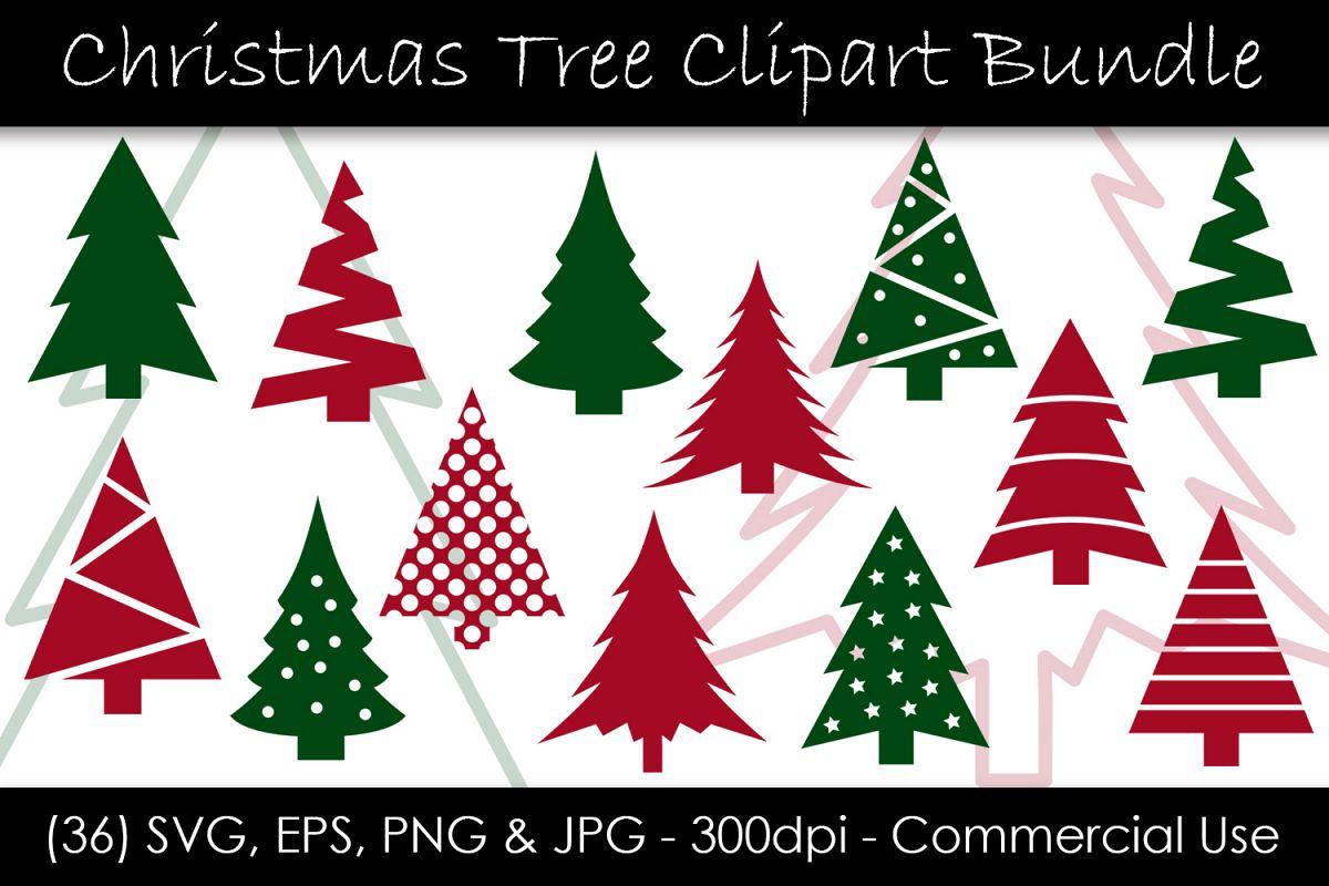 Christmas Tree SVG Bundle.