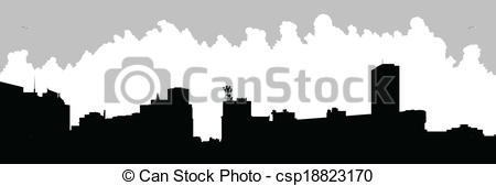 Vectors Illustration of Buffalo City Skyline.
