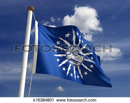 Clipart of Buffalo City Flag k16384801.