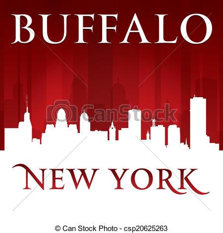 Buffalo skyline Clipart Vector and Illustration. 22 Buffalo.