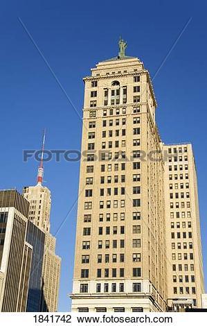 Stock Photo of Liberty Tower, Buffalo City, New York State, USA.