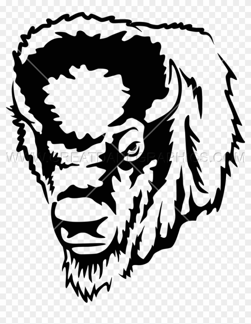 Image Download Buffalo Clipart Black And White.